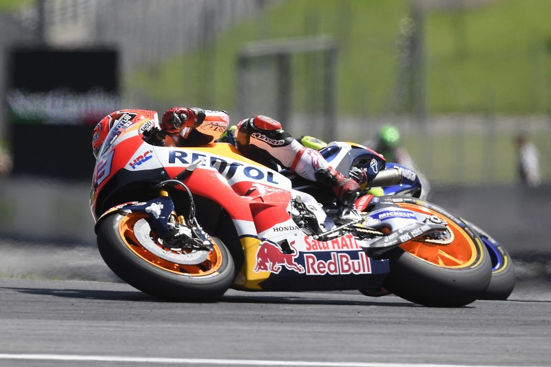Marquez scores precious points, Pedrosa improves his speed