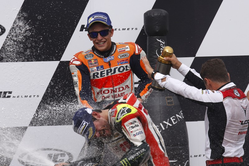 Marquez takes crucial podium finish to extend Championship advantage, Pedrosa 12th