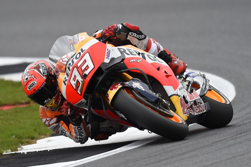 British GP gets underway in Silverstone for the Repsol Honda Team