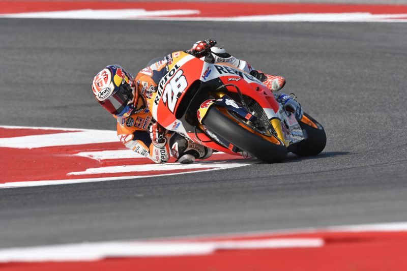 Pedrosa second quickest, Marquez fifth on Day 1 at Misano