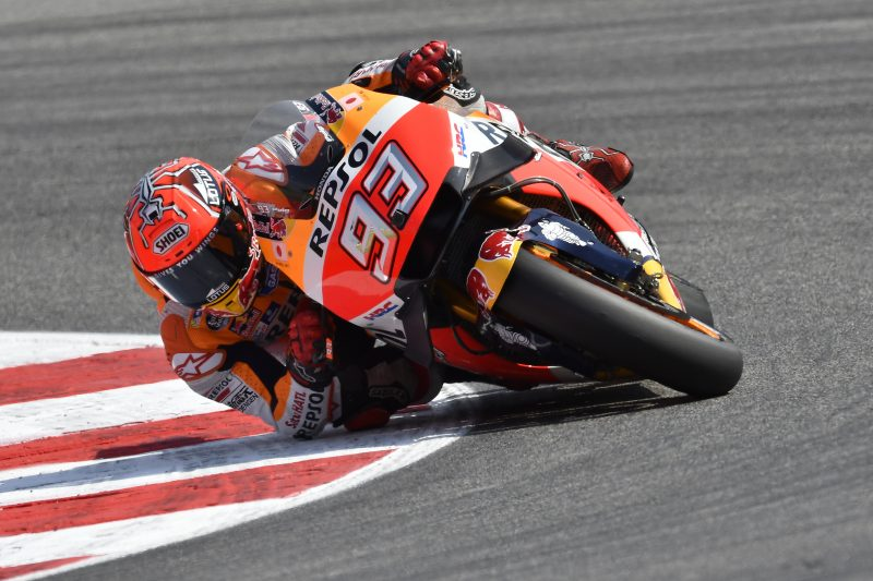 Marquez and Pedrosa find a good pace for tomorrow's race