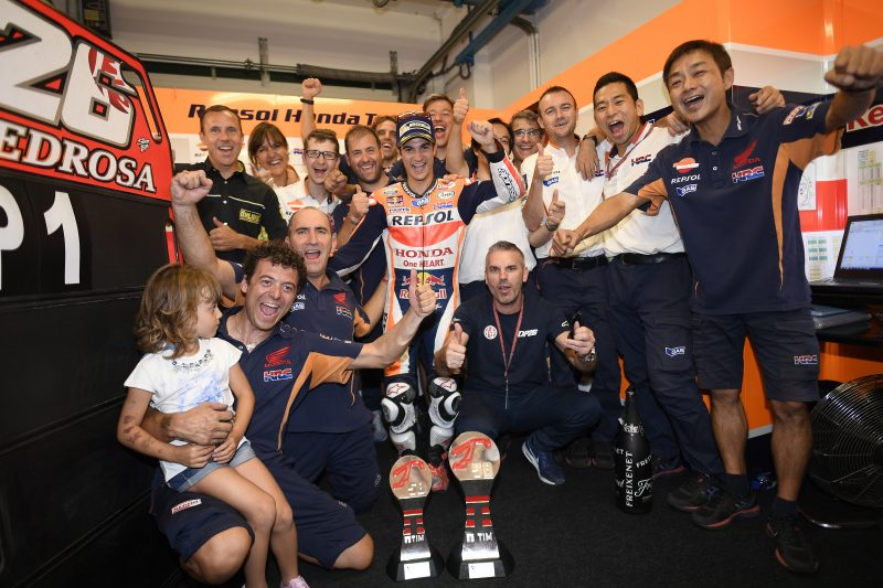 Pedrosa takes stunning victory in Misano, Marquez struggles but scores a positive fourth