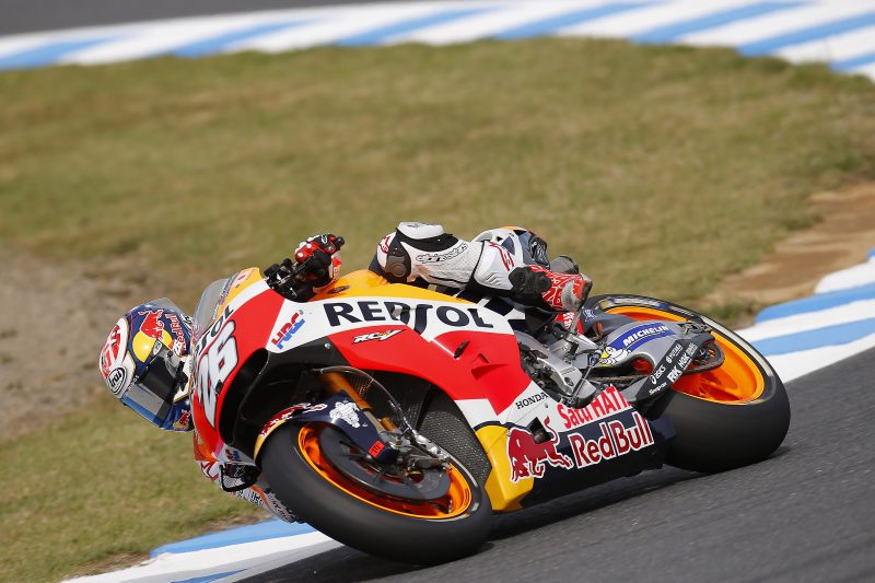 Pedrosa fractures collarbone and retires from Japanese GP, Marquez 4th
