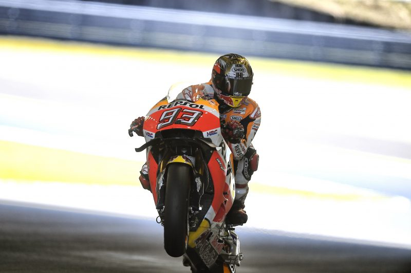 Front row start for Marquez in Japanese GP at Motegi