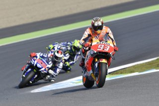 2016 MotoGP World Champion Marc Marquez