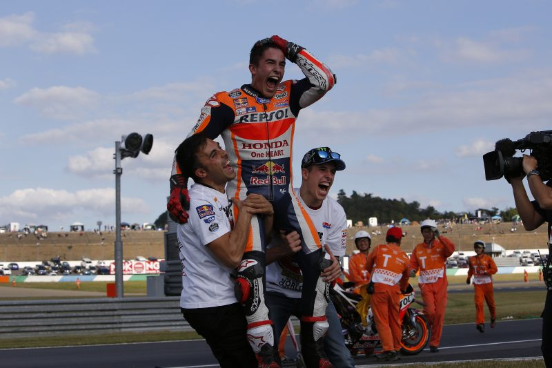 Face-to-face with 2016 MotoGP World Champion Marc Marquez