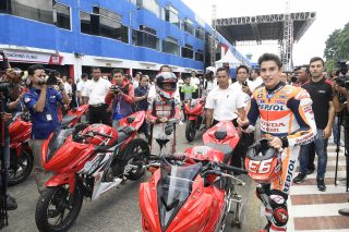 Marc Marquez at Sentul Circuit