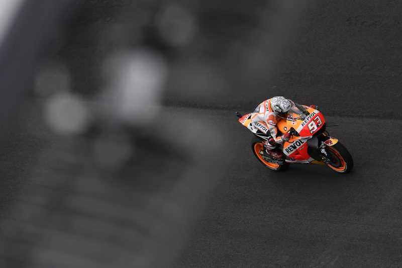 Marquez sits out FP2 due to gastroenteritis after setting the quickest time in the morning