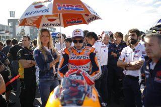 Marc Marquez Valencia race