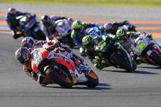 Dani Pedrosa Valencia race