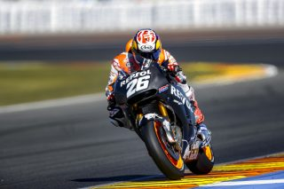 Pedrosa Valencia test day 1