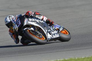 Marquez Valencia test day 1