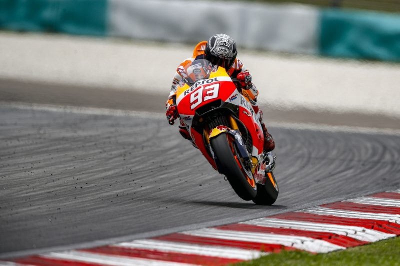Positive end to Sepang test for Marquez in 2nd place and Pedrosa in 4th
