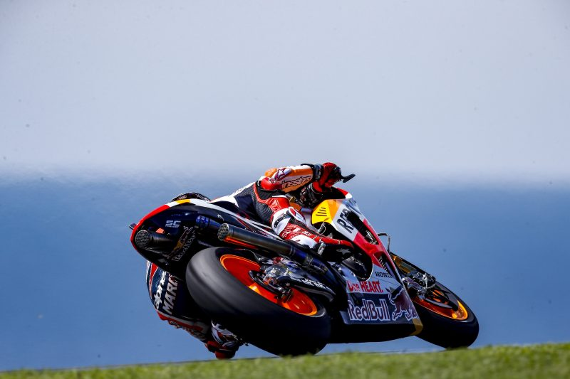 Marquez fastest on day one in Australia with Pedrosa seventh