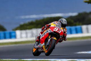 Marc Marquez - Australian test