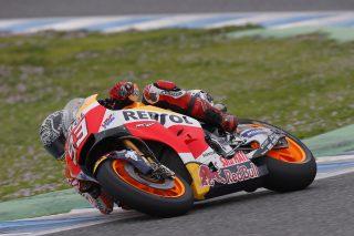 Marc Marquez - Jerez Test