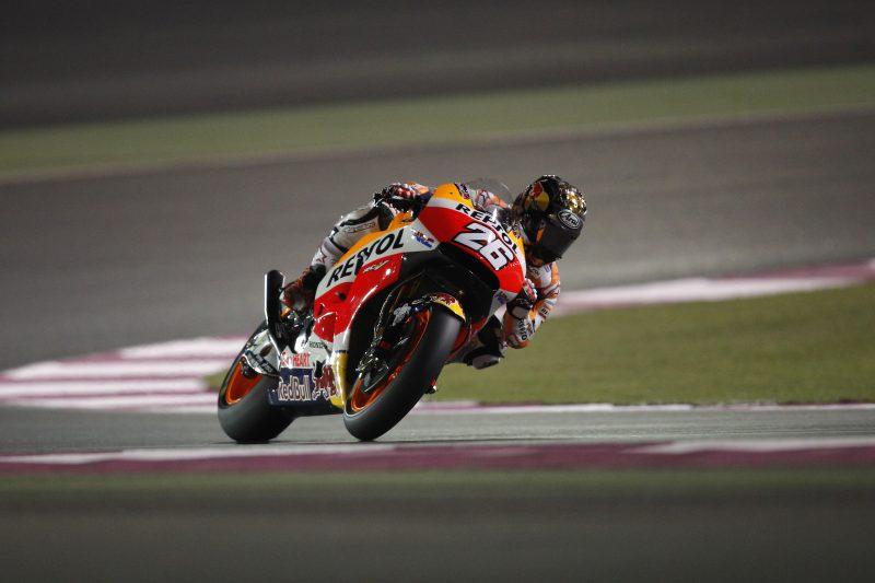 Repsol Honda Team commence final test in Qatar