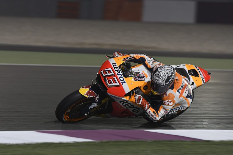 Testing continues in Qatar for Marquez and Pedrosa