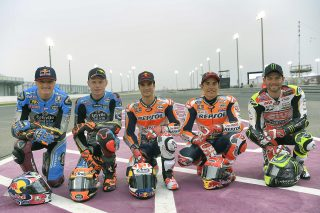 Honda Five riders 2017