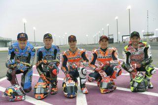 Honda Five riders 2017