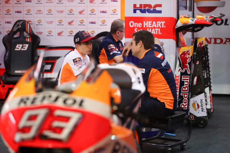 Marc on front row, Dani seventh in Qatar after QP cancellation