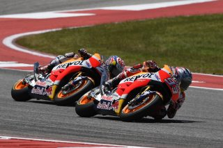 Marquez and Pedrosa - Red Bull GP of the Americas