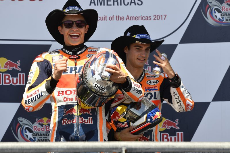 Masterful win for Marquez in Texas, with Pedrosa third