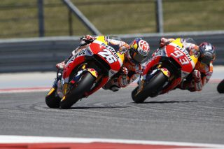 Pedrosa and Marquez - Red Bull GP of the Americas