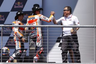 Marc Marquez and Shuhei Nakamoto- Red Bull GP of the Americas