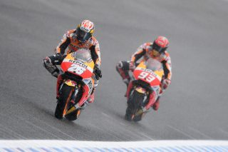 Dani Pedrosa and Marc Marquez - Spanish GP