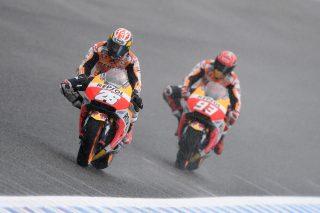 Dani Pedrosa and Marc Marquez - Spanish GP
