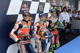 Marquez, Pedrosa and Crutchlow - Spanish GP 2017