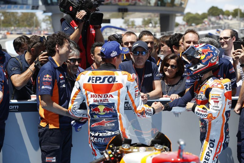 Pedrosa storms to Spanish Pole with Marquez second in all-Honda front row