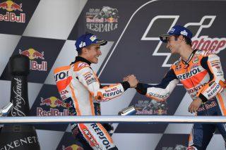 Marc Marquez and Dani Pedrosa - Spanish GP