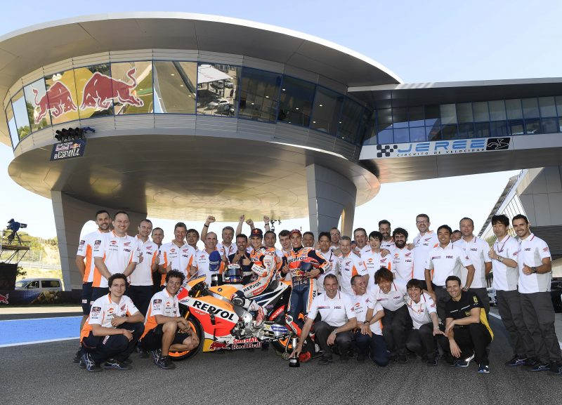 Historic Jerez win for unstoppable Pedrosa, Marquez second in Repsol Honda 1-2 podium