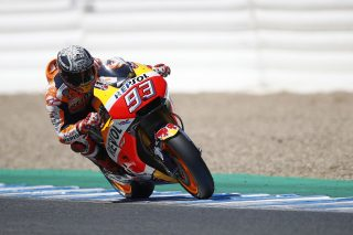 Marc Marquez - Jerez post race test
