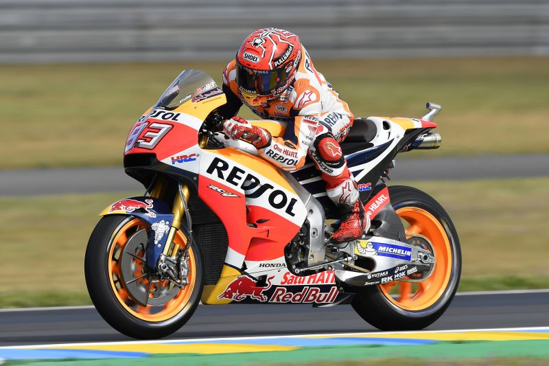 Mixed results for Repsol Honda Team in cold and wet Le Mans