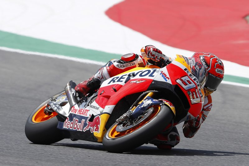 Difficult race for Marquez and Pedrosa in Mugello