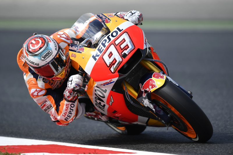Marquez tops standings on day 1 in Catalunya, good pace for Pedrosa