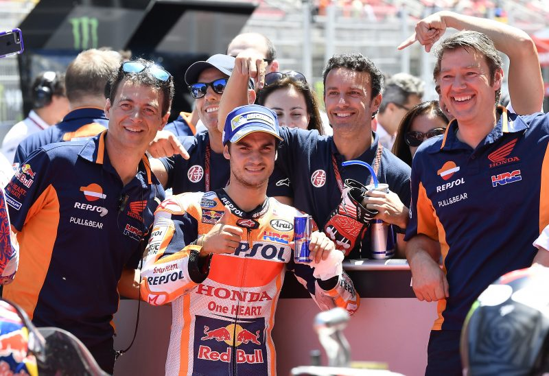 Pedrosa takes stunning pole at sunny Catalunya, Marquez fourth