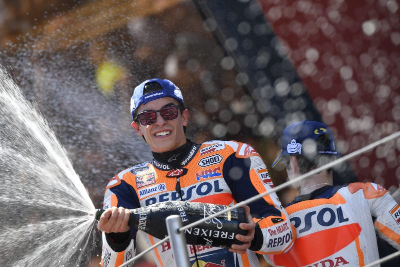 Double podium for Repsol Honda Team in Catalunya