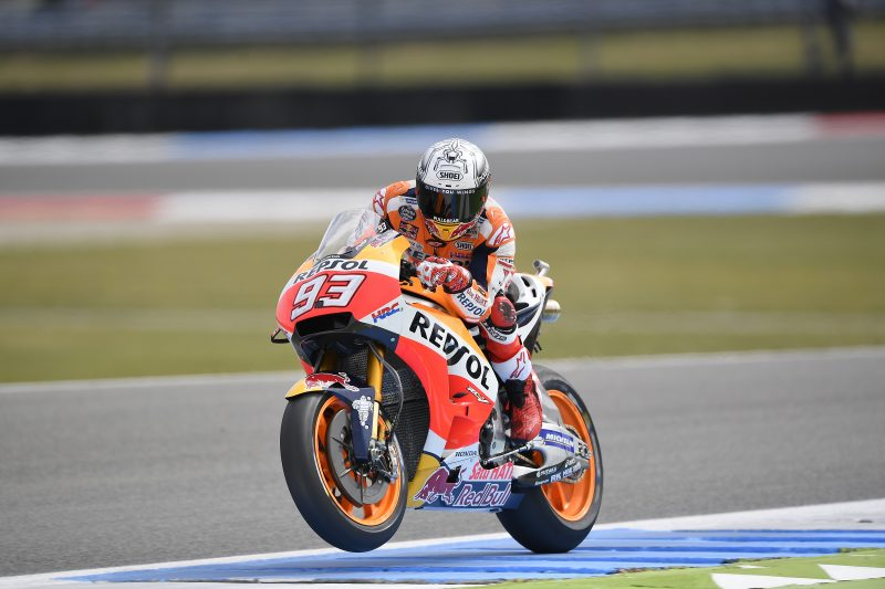 Marquez third on day 1 at Assen, with Pedrosa tenth