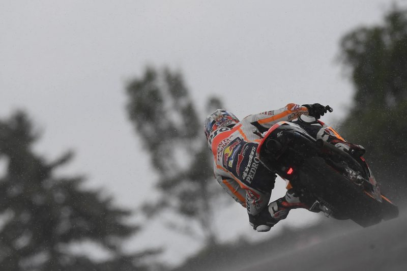 Positive start for Repsol Honda Team in mixed conditions at Sachsenring