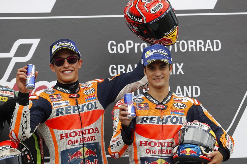 Eighth Sachsenring win for Marquez, Pedrosa third for fourth Repsol Honda Team double-podium this season