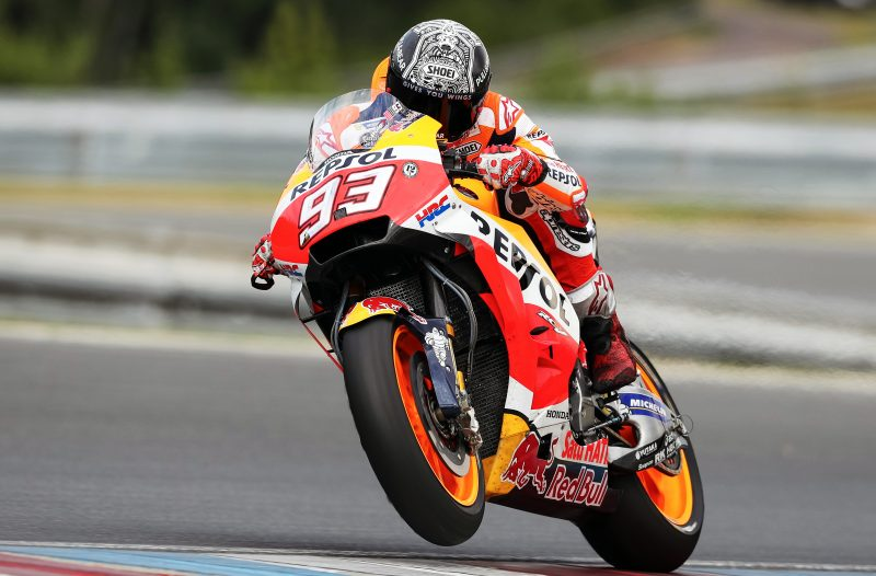 Repsol Honda Team complete Czech weekend with positive Monday testing session