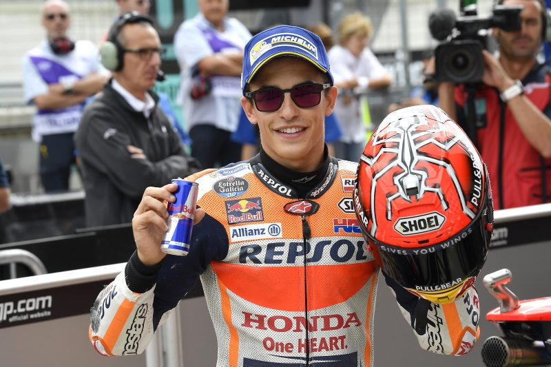 Marc Marquez clinches breath-taking pole at the Red Bull Ring circuit, extending his record to 70 in career