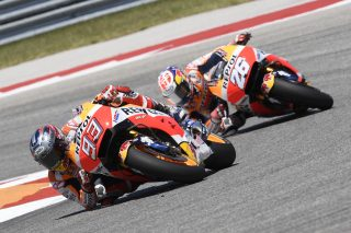 Marquez and Pedrosa