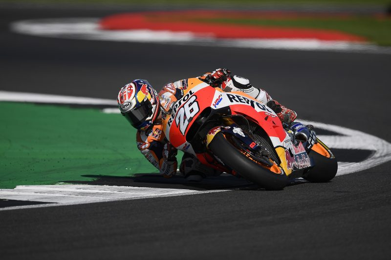Difficult race for Repsol Honda Team at Silverstone