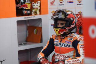 Marc Marquez - Motegi garage