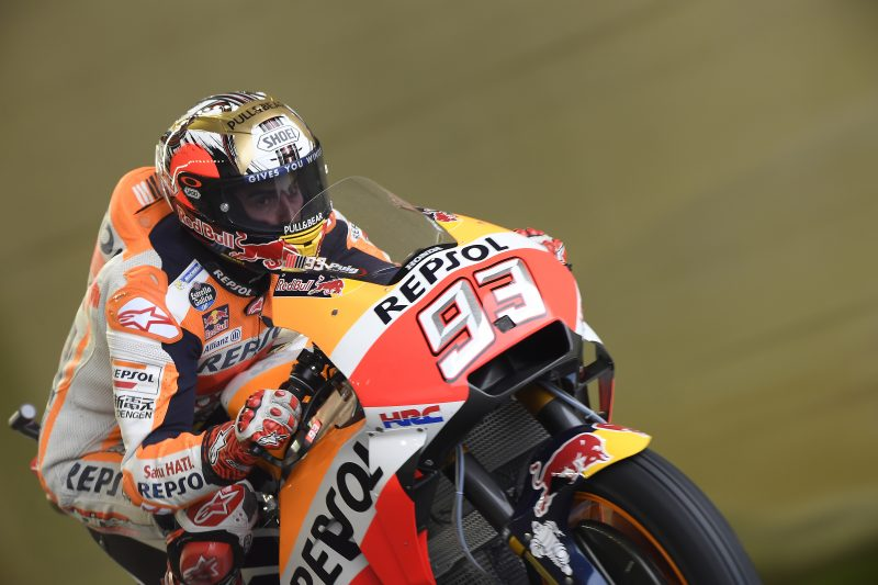 Breath-taking front-row qualifying performance for Marquez at Motegi, Pedrosa improves to sixth